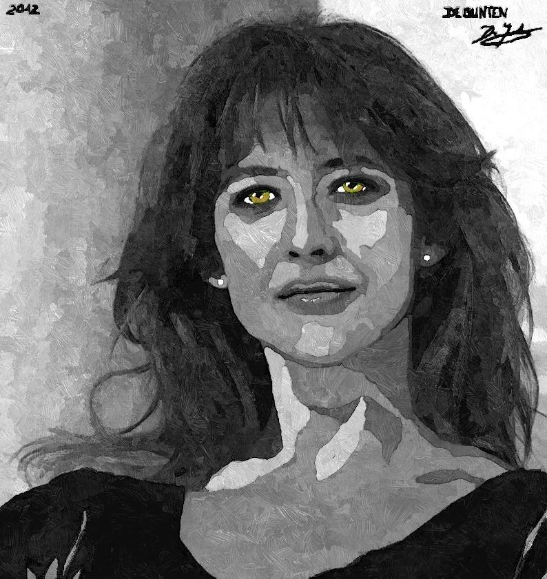Sophie Marceau by JIM